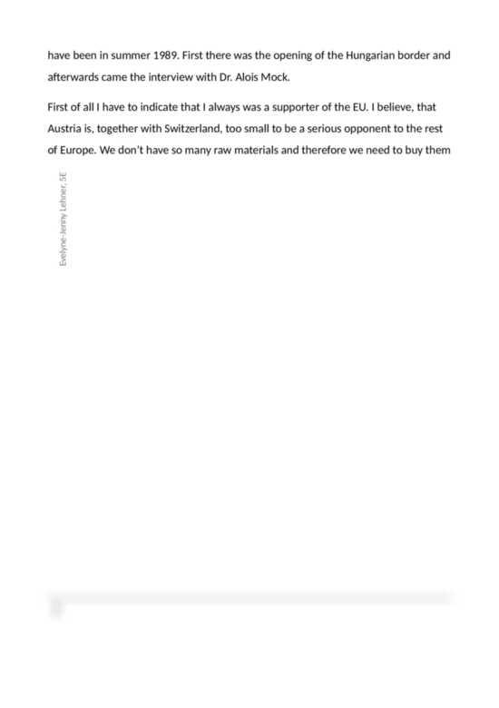 European union essay topics